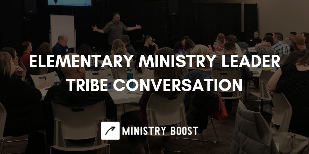 Elementary Ministry